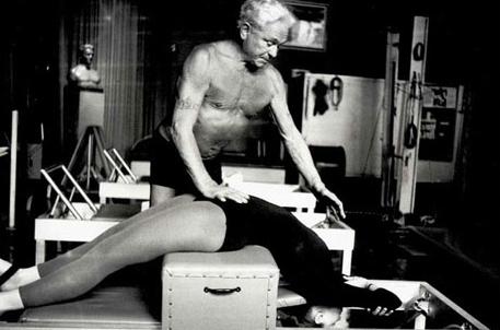 Joseph Pilates rehabilitating dancer