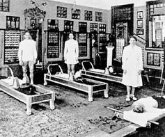 Joseph Pilates rehabilitation machines