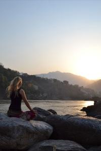 Rishikesh meditation