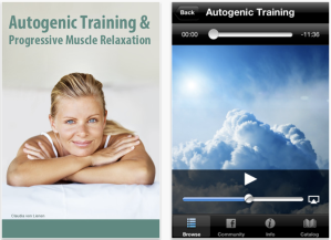 Autogenic training and progressive muscle relaxation app