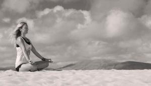 sand dunes meditation