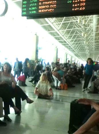 Airport meditation
