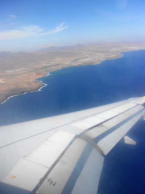 Arriving in Fuerteventura